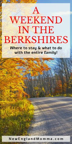Spend a long weekend in the Berkshires with the entire family. Yes, including the kids and the dog. There is so much to do here! Road Trip With Kids, Family Road Trips, Travel With Kids, Family Travel, New England Day Trips, New England Travel, Road Trip Packing, Road Trip Essentials, Road Trip Theme