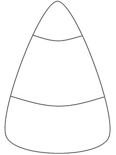candy corn template fundraising and such pinterest candy corn templates and candy - Halloween Templates For Kids