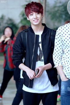 Imagine BTS picking you up from school and JungKook is the happiest to see you after the boys being away for so long and when he sees you he hugs you tightly and kisses your head. He then admits his feelings for you and asks you out.
