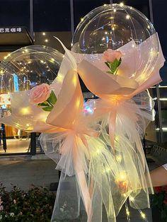 Birthday Balloon Decorations, Diy Party Decorations, Birthday Balloons, Plastic Balloons, Led Balloons, Balloon Flowers, Balloon Bouquet, Balloon Arrangements, Flower Arrangements