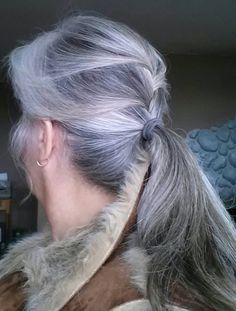 Gorgeous ponytail - if my hair were this color I wouldn't color it any longer.