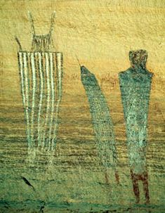 Harvest scene pictograph, Maze district of Canyonlands National Park. Ancient Mysteries, Ancient Artifacts, Native Art, Native American Art, Dibujos Dark, Paleolithic Art, Kunst Der Aborigines, Cave Drawings, Aboriginal Art