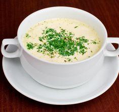 Zdrobova juha z mandlji - uporabiš lahko pirin ali kamutov zdrob