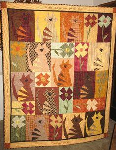 - Cattitudes  I so love this quilt