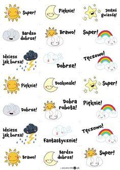 Obrazki motywacyjne - pogoda - Printoteka.pl