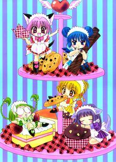 ☆ ☆ Cookies and cake (Tokyo mew mew) All Anime, Anime Love, Manga Anime, Anime Art, Tokyo Mew Mew, Dramas, Cardcaptor Sakura, Anime Shows, Magical Girl