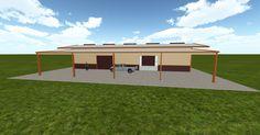 Cool 3D #marketing http://ift.tt/2mV0b2b #barn #workshop #greenhouse #garage #roofing #DIY