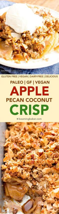 Aople Pecan Coconut Crisp