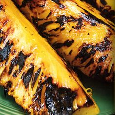 Grilled Pineapple with Passion Fruit Butter