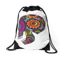Calavera Drawstring Bag