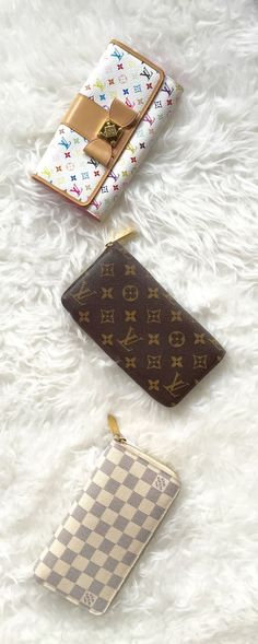 Louis Vuitton wallets available at http://www.lovethatbag.ca