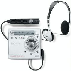 SONY MINIDISC PLAYER  Ha... I probably have 3 of these somewhere..