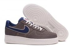 new arrivals 8f964 fa039 Men s Nike Air Force 1 07 LV8 Crocodile Leather Brown Blue White 718152 205  Boys Casual