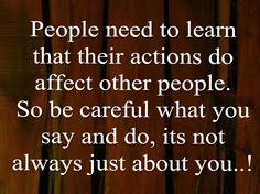 People need...