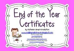 includ 27, 27 color, end of year certificates, certif idea