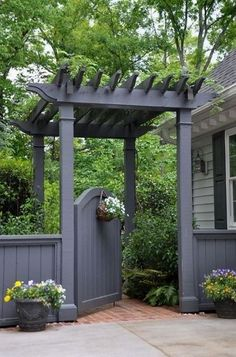 Pergolas incorporate beauty and function to your front or backyard. They are garden or yard structures that provide seating, shade, and comfort outside your home. A thoughtfully designed pergola will…MoreMore #OutdoorsIdeas