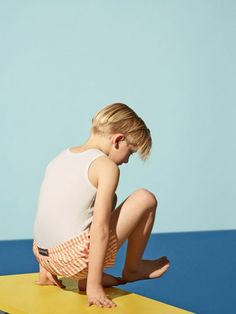 David Hockney's Pool | MilK - Le magazine de mode enfant