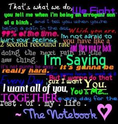 <3 the notebook