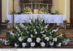 Alter Flowers, Church Flowers, Funeral Flowers, Big Flowers, Wedding Flowers, Easter Flower Arrangements, Funeral Flower Arrangements, Beautiful Flower Arrangements, Beautiful Flowers