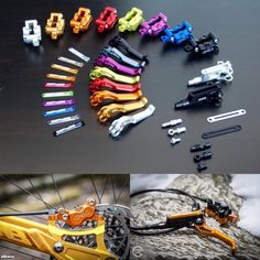 4 Wheel Bicycle, Bicycle Brakes, Mtb Parts, Bike Parts, Montain Bike, Bike Tools, Push Bikes, Cool Gadgets To Buy, Scooter Girl