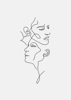 Faces poster in the group posters / illustrations at Desenio AB - # . - pinanimals - Faces poster in the group posters / illustrations at Desenio AB – # … – - Tattoo Drawings, Art Drawings, Drawing Faces, Contour Drawings, Collage Kunst, Minimal Art, Art Du Croquis, Groups Poster, Online Posters