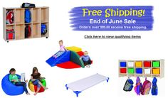 Free Shipping End of June Childcare Supply Sale from Honor Roll Childcare Supply.