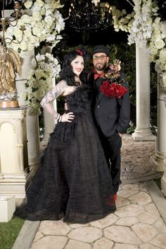 Gothic Wedding by Mindy Weiss