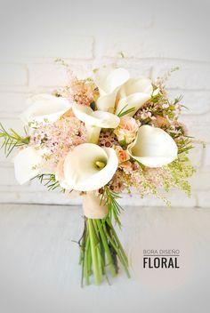 Ramo de novia calas blancas Bouquet