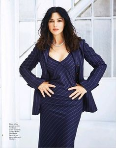 Ever charming Monica Bellucci in a TRUSSARDI total look from the Fall Winter collection as seen in Grazia Italia Malena Monica Bellucci, Monica Belluci, Monica Bellucci Photo, Bond Girls, Italian Actress, Actrices Hollywood, Rita Hayworth, Audrey Hepburn, Most Beautiful Women
