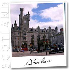 #Aberdeen, la ciudad de granito, tiene una de las más antiguas universidades alrededor de la cual gira una gran parte de la vida de la ciudad.