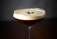 End the evening with this classic and elegant drink - Espresso Martini