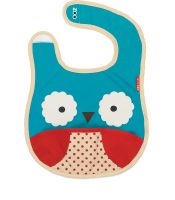 Bibs for the baby on the go - cuteness and convenience, there's a tuck away pouch for putting it away when wet!
