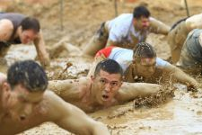 Rugged Maniac is a 5K (3.2 mile) obstacle course race that combines the most rugged terrain and burly obstacles to allow those with a sense of adventure to define themselves, then bask in glory at a rocking after party with great bands, good food and plenty of beer!
