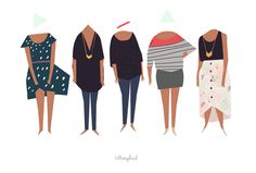 this week's color blocks! tiffany ford //