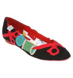 Zapatos customizados con fieltro