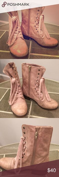 Selling this Tan Ankle Boots on Poshmark! My username is: moonmaker. #shopmycloset #poshmark #fashion #shopping #style #forsale #Shoes