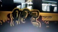 Wandale zniszczyli Pendolino !!! - Drugie Graffiti