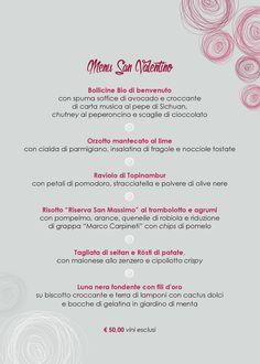 #sanvalentino #menu #ilmargutta #ilmarguttamenu