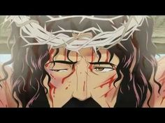 Beware, this cartoon about Jesus's last day is (like much of the Bible and anime) very graphically violent. | There's An Anime About Jesus And It's Only A Little Kawaii
