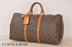 Louis Vuitton Monogram Keepall 50 Travel Bag M41426 - D00131