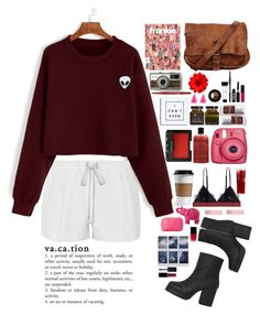 """""""Untitled #28"""" by experimental-m ❤ liked on Polyvore featuring Elizabeth and James, NARS Cosmetics, Forever 21, philosophy, WALL, LoveStories, Monki, Mario Luca Giusti, Kenzo and Alexis Bittar"""