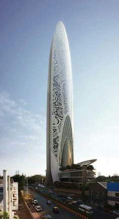 Namaste Tower, Bombay - India by Atkins Dubai