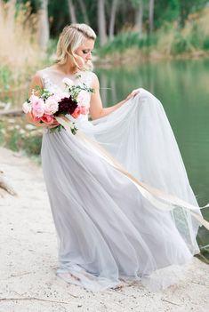 On the Banks Editorial - Emilie Ann Photography Boho Bride, Boho Wedding, Wedding Flowers, Wedding Dresses, Alta Moda Bridal, Floral Arch, Bridal Shoot, Wedding Inspiration, Wedding Ideas