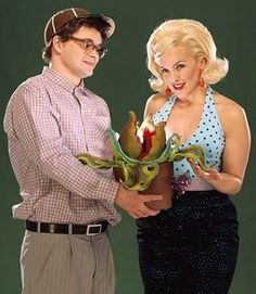 The ditzy but lovable Audrey in Little Shop of Horrors.
