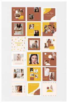 Instagram Feed Layout, Instagram Grid, Feeds Instagram, Instagram Post Template, Instagram Design, Instagram Posts, Instagram Collage, Instagram Quotes, Design Editorial