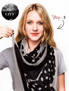 Great ways to tie a scarf