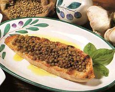 Bruschetta with Lentils   Peccando