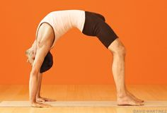 Poses to prep and improve Wheel pose