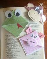 H.S. Homemade: Corner Bookmarks