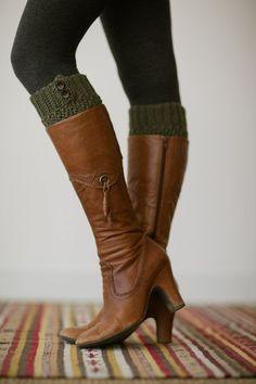 boot cuffs by threebirdnest